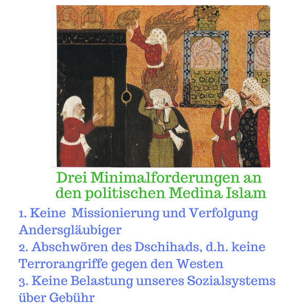 4 Minimalforderungen an den Medinaislam